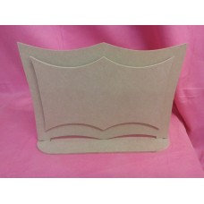 Standing 3 piece plaque large